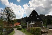 Umlaufův statek - původní hrázděný dům, Adršpach
