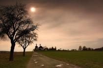 Dobruška - stará cesta ke kostelíku Svatého Ducha