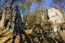 Góry Suche - rokle Skalna Brama pod Rogowciem