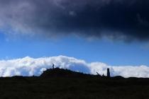 Kralický Sněžník - na vrcholu