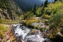 Krkonoše - Nad Labským vodopádem