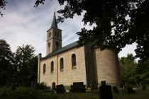 Evangelický kostel ve Stroužném (Pstražna, Straussdorfel)