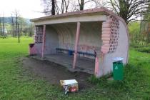 Okrzeszyn - autobusová zastávka