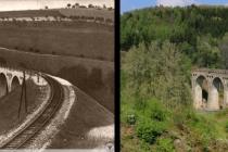 Proměny sudetské krajiny, Levínský viadukt (Wiadukt w Lewinie Kłodzkim) 1910-2014