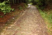 Benediktínské cesty v Broumovských stěnách, nad Božanovem, 9.8.2012