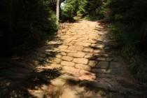Benediktínské cesty v Broumovských stěnách, nad Hlavňovem,  13.8.2012