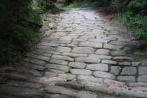 Benediktínské cesty v Broumovských stěnách, nad Hlavňovem, detail 3 13.8.2012
