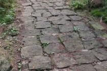 Cesta na Záboř, Teplické skály