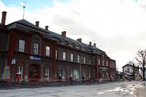 Náchod - hlavní budova nádraží