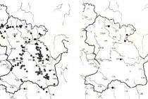 Srovnání rozšíření vstavače osmahlého (Orchis ustata) ve východnch Čechách v 50. letech a dnes