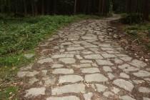 Broumovské stěny - stará cesta nad Machovem