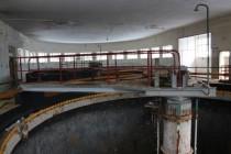 Tepna - stav 2010, detail z bývalých pánských toalet