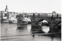 Praha, povodeň 1890, foto- www.scheufler.cz