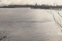 Rozvodněné Labe u Smiřic, 2.1.1926, foto - www.smirice.eu