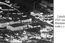 Mautnerovy textilní závody (Tepna) v r. 1925, foto - archiv A. Samka
