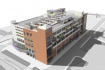 Staré tovární budovy lze vhodně využít - vizualizace zrekonstruované budovy přádelny, projekt i.s. Protivítr, obr. - http://nachodsky.denik.cz/