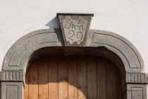 Typický klenák vstupního portálu, Velká ves  IMG_5702