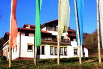 Polski Tibet - budova gompy