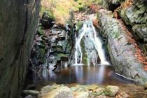 ... i menší vodopády