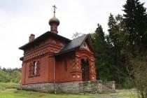 Zdejší pravoslavný kostelík dokládá, jak velké oblibě se Sokolowsko těšilo u movité aristokracie carského Ruska.