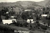 Glasendorf (Sklenářovice) v první polovině 20. století