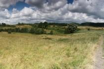 U Malé Čermné - louky a meze uprotřed polí. Takhle si představuji hezkou zemědělskou krajinu...