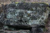 Betlém - Reliéf Vidění sv. Huberta