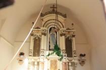 Kaple Marie Lurdské v Suchém dole - interiér