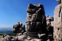 Ze skal na západní hraně plošiny jsou úžasné výhledy