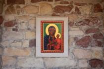S neobvyklou pravoslavnou ikonou uvnitř
