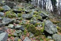 Peklo - suťoviště v údolí Olešenky