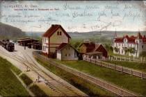 Nádraží ve Słonem, stav přibližně 1910