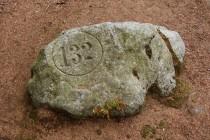Zachovala se tu i řada kamenů s hraničními značkami z počátku 19.st., které vymezují panství Michaela von Stillfrieda z Nowe Rudy.