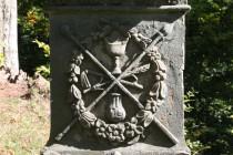 Kalvárie - detail podstavce