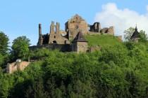 Potštejn - asi nejrozsáhlejší hradní zřícenina ve východních Čechách
