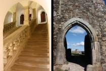 Potštejn - svaté schody a hradní branka, baroko a gotika