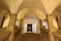 Svaté schody uvnitř kaple
