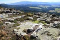 Skaly Puchacza - jedna z mnoha okrajových plošin