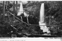 Kdysi hlavní atrakce Gór Stolowych. Historické pohlednice - fotopolska.eu