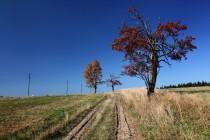 Nad Pastierkou vede cesta přes horské pláně s krásnými výhledy