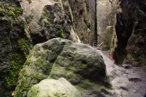Podzemní svět uvnitř hory