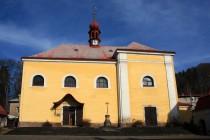 Malé Svatoňovice - náměstíčko a poutní kostel. Jednoduchost a strohost, která se chudého hornického městečka vysloveně hodí. V regionu ne zcela běžný empírový sloh, proti baroku příjemná změna...