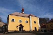 Malé Svatoňovice - poutní kostel P. Marie Sedmiradostné
