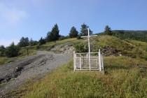 Eibenthal - křížek pod hřbitovem
