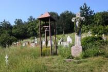 Eibenthal - na hřbitově