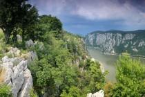 Soutěska Dunaje - nad Železnými vraty