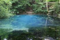 Vyvěračka pod vodopády Beusnitei