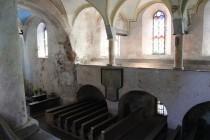 Kostel Nanebevzetí Panny Marie v Horním Maršově - interiér