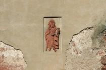 Reliéf se svatým Jakubem