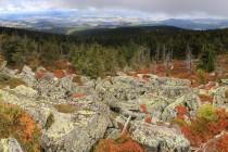 Kamenná moře a fantastický výhled do Kladska